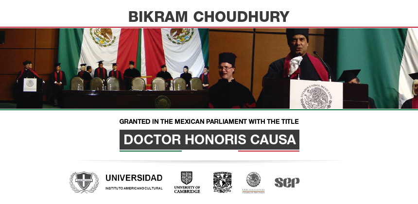 Bikram Choudhury – Doctor Honoris Causa